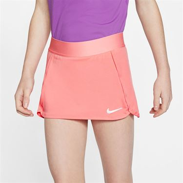 Nike Girls Court Skirt Sunblush/White BV7391 655