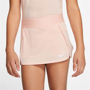 Nike Girls Court Skirt Washed Coral/White BV7391 664