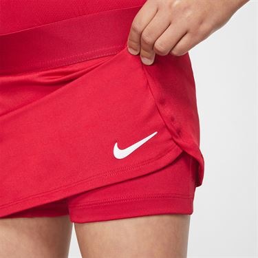 Nike Girls Court Skirt Gym Red/White BV7391 687