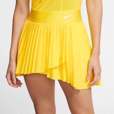 Nike Court Victory Skirt Womens Opti Yellow/White BV9231 731