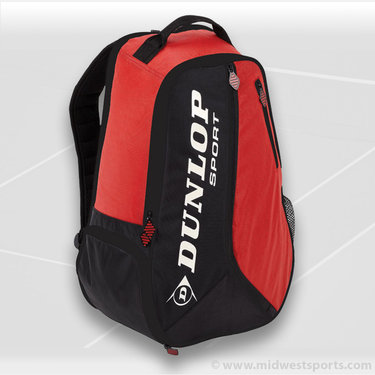 Dunlop Biomimetic Tour Red BackPack Tennis Bag