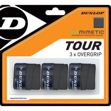 Dunlop Biomimetic Tour Tennis Overgrip 3 Pack