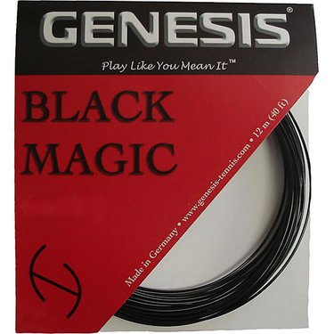 Genesis Black Magic 18G Tennis String