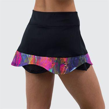 Bluefish Urban Fluid Skirt Womens Black/Urban C1033 BUû