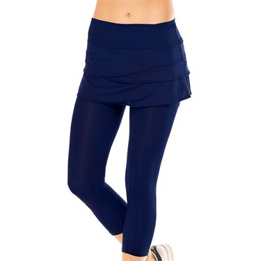 Lucky In Love Core Scallop Capri - Midnight