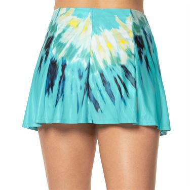 Lucky in Love Peace Out Long Day Trip Skirt Womens Opal CB143 C32470