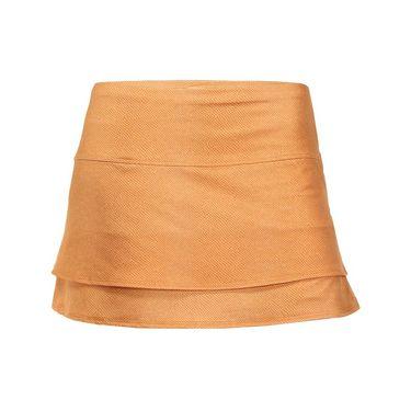 Lucky in Love Birque Skirt - Capucine Leather