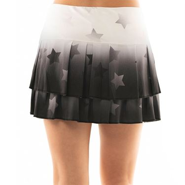 Lucky in Love Core Ombre Star Skirt - Black