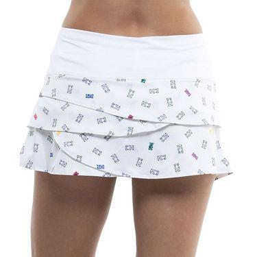 Lucky in Love Yummy Gummy Skirt Womens White/Multi CB20 E67955