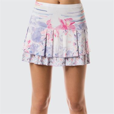 Lucky In Love Lilac It A Lot Long Vivid Skirt - Print