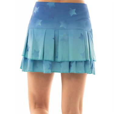 Lucky in Love Core Ombre Star Long Skirt - Parisian Blue
