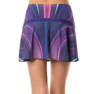 Lucky in Love Ultraviolet Long Skirt - Ultraviolet Print
