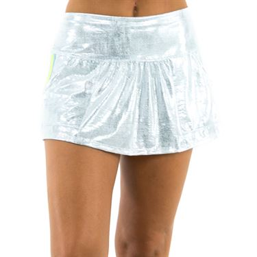 Lucky in Love Las Palmas Glisten Cargo Skirt - Aquafrost