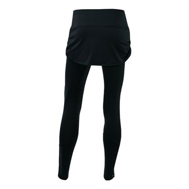 Lucky in Love Ruched Skirt Legging - Black