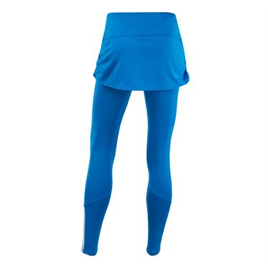 Lucky in Love Boho Sense Ruched Skirt Legging - Paradise Blue