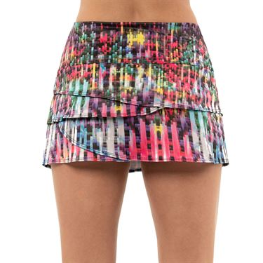 Lucky in Love Long After Flash Scallop Novelty Skirt Womens Multi Color CB258 C82955