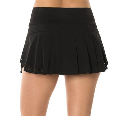 Lucky in Love Laser Pulse Skirt - Black