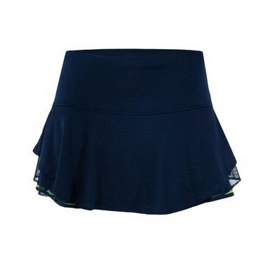Lucky in Love Boho Sense Multilayer Flip Skirt - Midnight