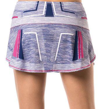 Lucky in Love Shape It Up Running Skirt - Blueberry