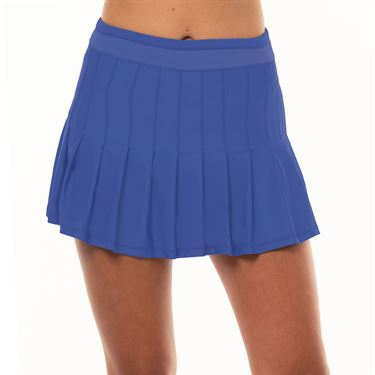 Lucky in Love Lite Speed Long Retro Pleated Skirt Womens Parisian Blue CB287 434