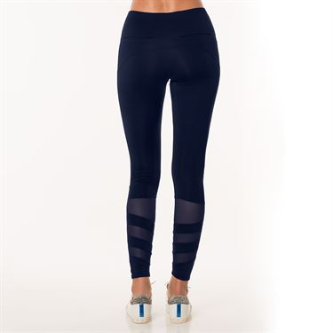 Lucky in Love Ultraviolet Moto Mesh Legging - Midnight