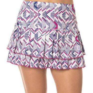 Lucky in Love Shape it Up Long In Shape Skirt - Raspberry