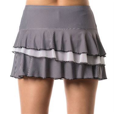 Lucky in Love Bloomy Dimensions Beeline Rally Skirt - Black