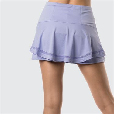 Lucky In Love Lilac It A Lot Long Insert Flip Skirt - Lilac