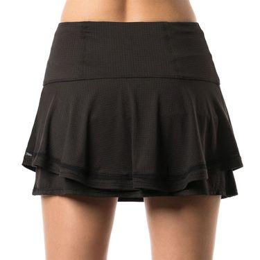 Lucky in Love Bloomy Dimensions Long Flip Skirt - Black
