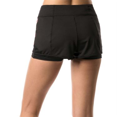 Lucky in Love Go For the Metal Olympian Training Short - Black