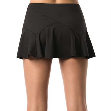 Lucky in Love Go For the Metal Olympian Flounce Skirt - Black