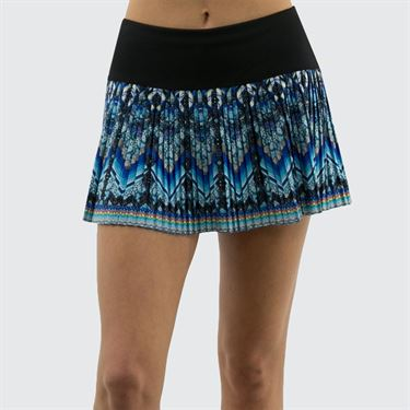 Lucky in Love Pandora Pleated Skirt - Multi Color