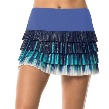 Lucky in Love Lite Speed Aura Pleated Skirt Womens Parisian Blue CB339 835434