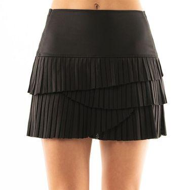 Lucky in Love BMS Hi Pleat Scallop Skirt - Black