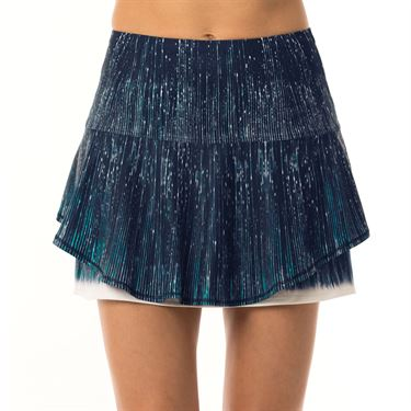 Lucky in Love Lite Speed Long Infinity Flip Skirt Womens Parisian Blue CB362 837434