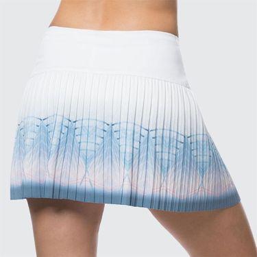 Lucky in Love Celestial Geo Astral Pleated Long Skirt - Bluebell