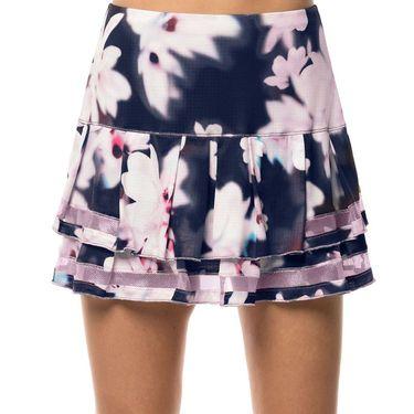 Lucky in Love Lush Daze Long Posh Pleat Tier Skirt - Midnight