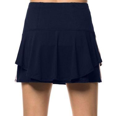 Lucky in Love Lush Daze Long Lush Stripe Skirt - Midnight