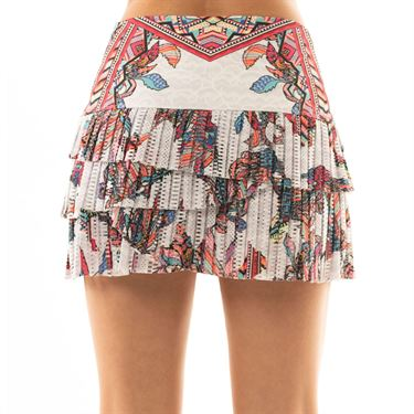 Lucky in Love Lite Speed Hi Pheonix Pleated Skirt Womens Multicolor CB383 964955