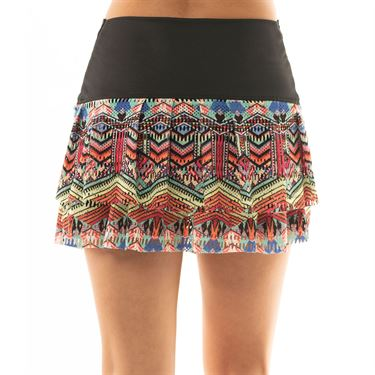 Lucky in Love Lite Speed Hi Tribal Jewel Skirt Womens Multicolor CB384 964955