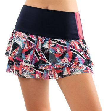Lucky in Love Hi Phantom Tier Skirt Womens Midnight CB384 D29401