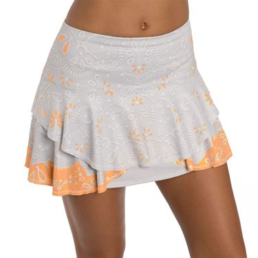 Lucky in Love Eyelet Go Skirt Womens Orange Frost CB390 C15824