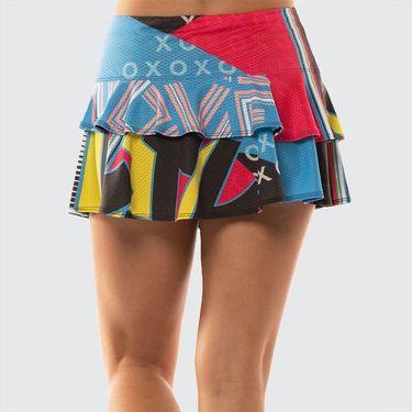 Lucky in Love Future Retro Skirt Womens Black CB404 A14001