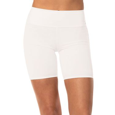 Lucky in Love Meshing Around Hi Brid Short Womens White CB408 110