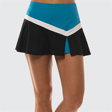 Lucky in Love Future Retro Lil Victory Skirt Womens Paradise Blue CB416 450