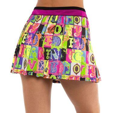Lucky in Love Rockin Rococo Long Lucky Lane Skirt Womens Multi CB420 C22955