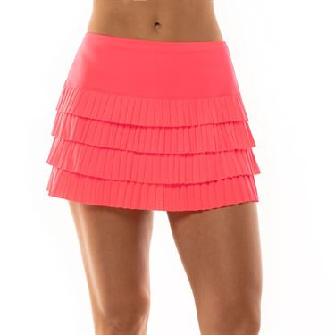 Lucky in Love Cest La Vie Mon Amie Skirt Womens Coral CB422 801