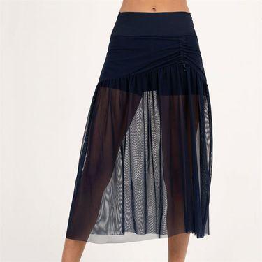 Lucky in Love Heritage Mesh Skirt Womens Midnight CB428 401