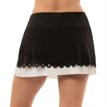 Lucky in Love Laser Long Rising Star Skirt Womens White/Black CB439 B82121