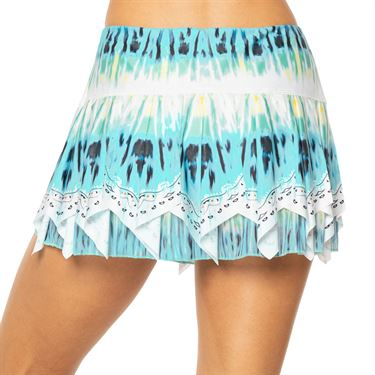 Lucky in Love Peace Out Trippy Scarf Skirt Womens Opal CB441 C31470